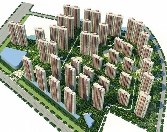 [湖北]高层现代风格住宅区规划设计方案文本(知名地产)