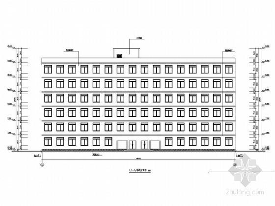 [学士]六层框架结构政府办公楼毕业设计(含建筑图 结构图 网络图 计算书)