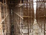 提高热电厂高大构配件施工质量