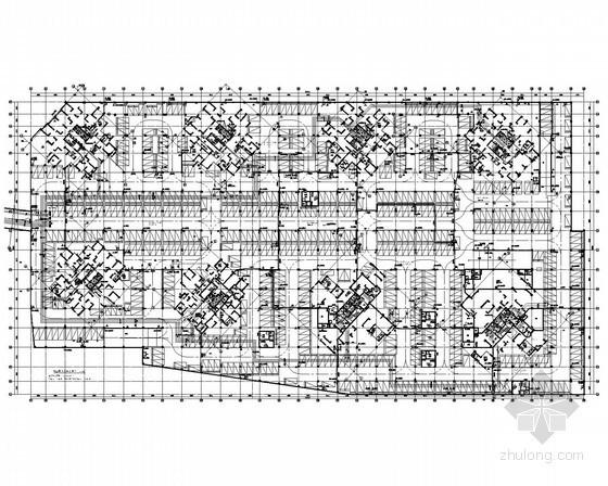 [四川]高档小区住宅楼全套给排水图纸(8栋、地下室)