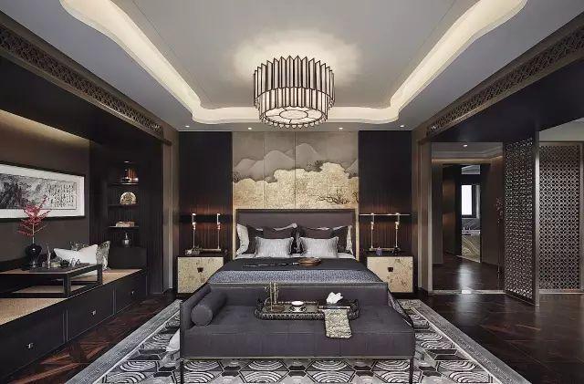 新中式︱卧室,中国人的专属奢华