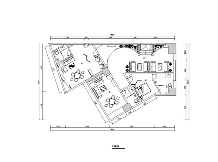凯歌归茶楼多功能厅详细室内装修设计施工图及效果图