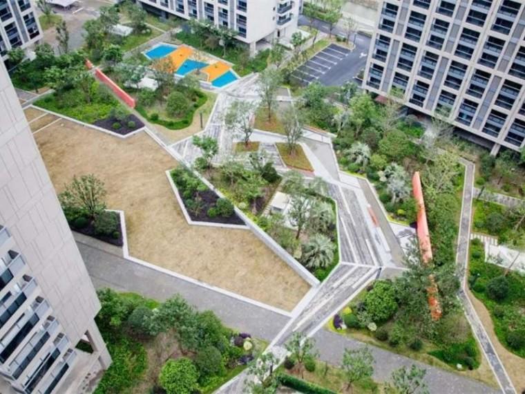 杭州良渚未来城住宅景观-1