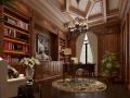 传统法式风格住宅室内设计实景图69P