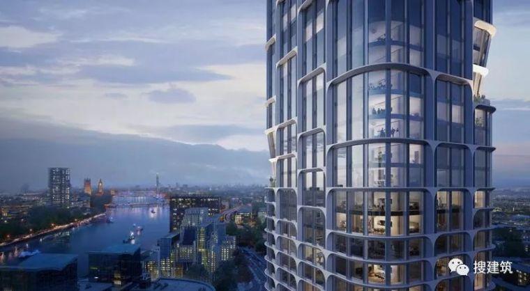 哈迪德新作品:185米的摩天大楼