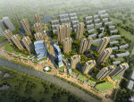 [无锡]现代风格园林式高层住宅建筑设计方案文本