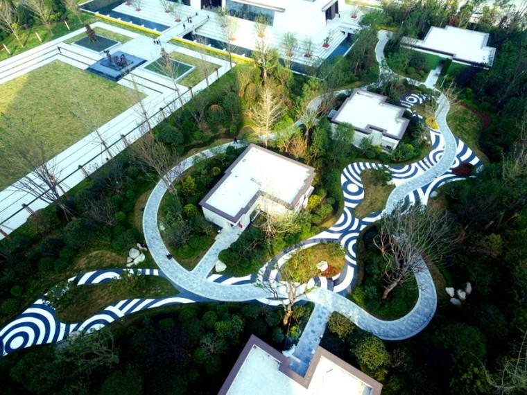 西安中铁西派国际住宅景观