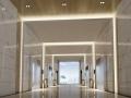 现代电梯厅3D模型下载