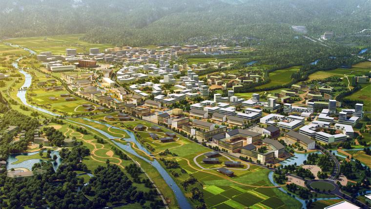 黄山谭家桥镇国际小镇规划-3