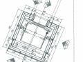 观光电梯玻璃幕墙、钢结构施工图及幕墙结构计算书