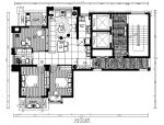 【福建】福州样板房设计CAD施工图(含效果图)