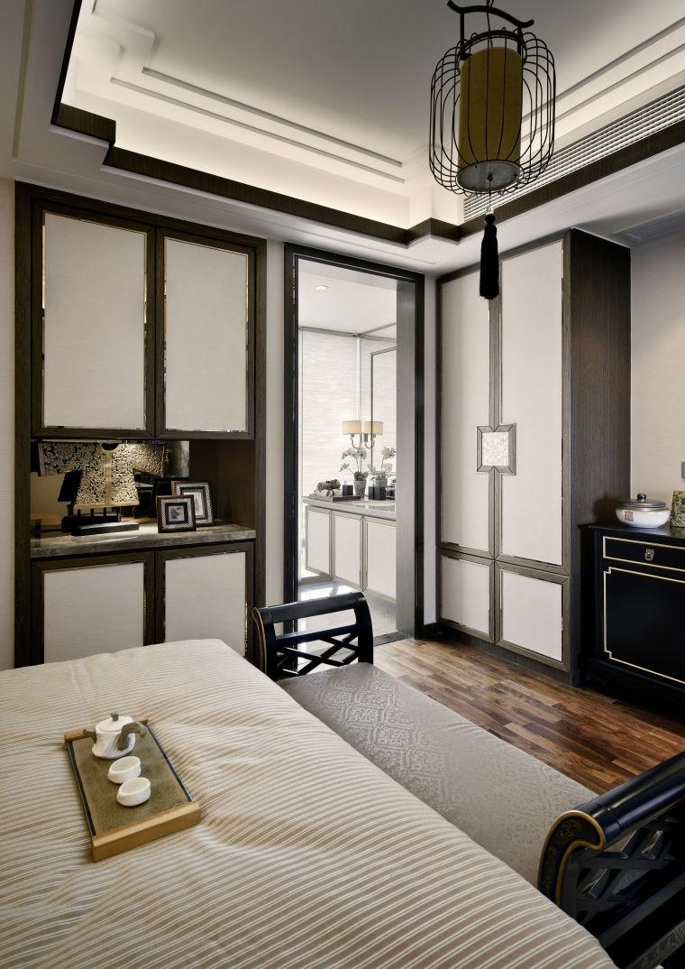 融林星海湾新中式样板房室内实景图 (8)