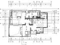 【陕西】意式风格样板间设计施工图(附效果图+材料表)