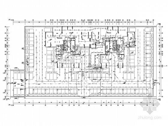 [四川]一类高层综合商住楼强弱电系统电气施工图纸