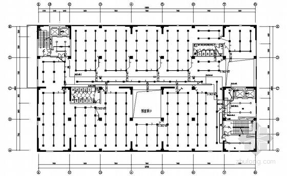 昆明某高層廠房電氣施工圖