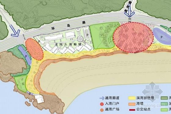 [福建]滨海城市海滨浴场景观规划设计方案