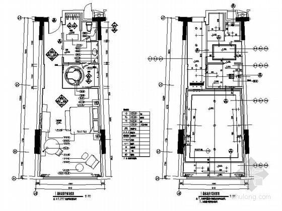 [广东]旅游产业园五星级酒店客房装修施工图(含效果)
