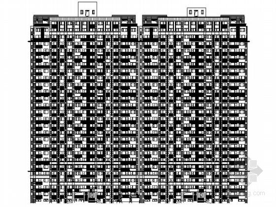 [浙江]27层高层带底商住宅楼及8层洋房设计施工图(知名地产)