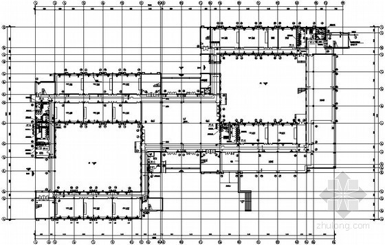 [济南]公共教学楼采暖设计施工图