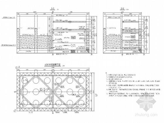 铁路桥工程主墩双壁钢围堰设计施工图(41张)