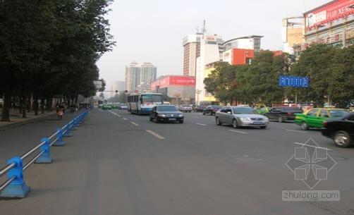 成都市某市政道路维护改造工程施工组织设计(2009年投标)