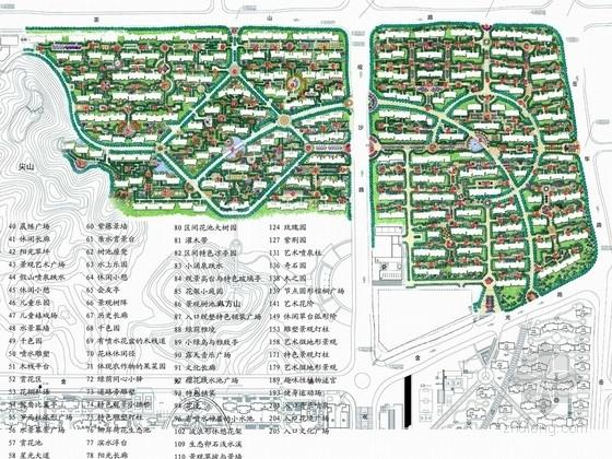 [湖南]自然生态花园居住区景观概念设计方案