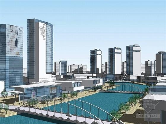 [江苏]现代风格新中心片区概念性规划设计方案