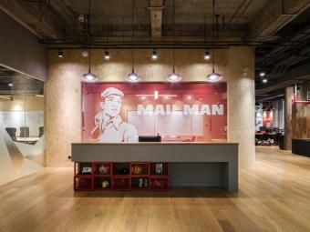 上海邮人公司超酷办公室