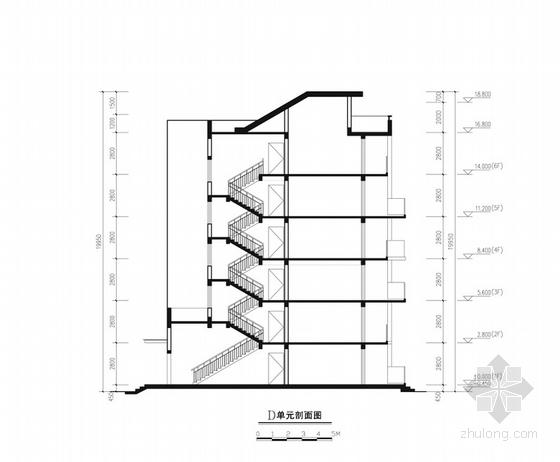 商业综合体立面图