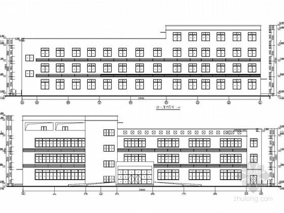 三层框架结构办公楼建筑结构施工图