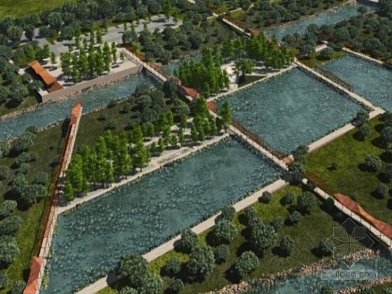 [浙江]南方小城中央公园滨水景观设计方案(知名设计公司)