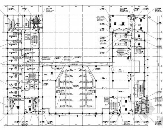 vrv空调系统资料下载-[江西]六层公共行政办公楼空调通风及消防系统设计施工图(VRV系统)
