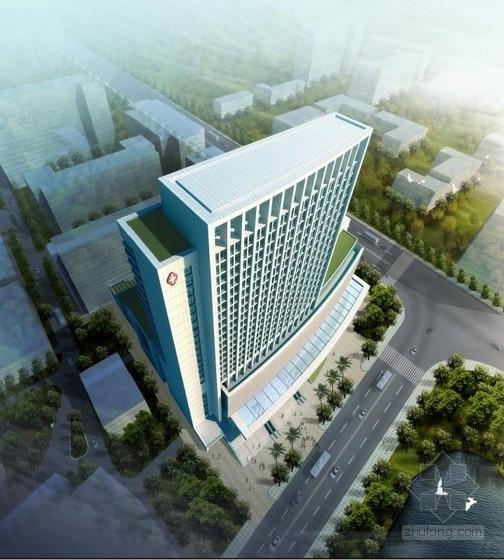 [广州]现代风格简洁型4000床门诊综合大楼建筑设计方案文本