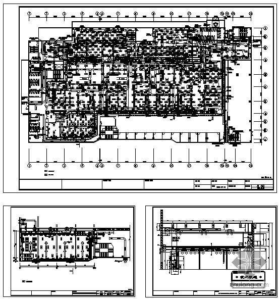 电子厂洁净室空调施工图