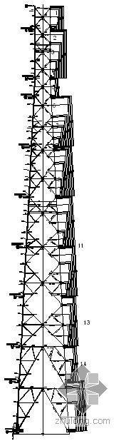 某50米铁塔图纸