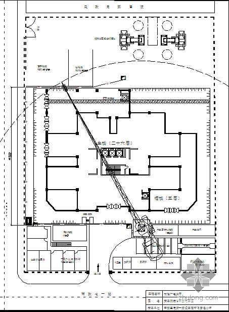南昌某高层商住楼施工组织设计(高支模 层高5.4m)