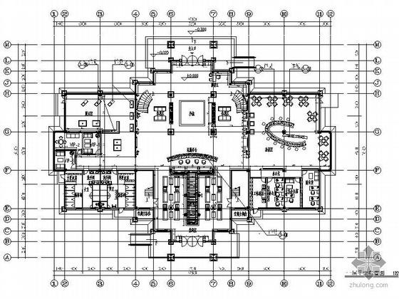 [武汉]某小区会所施工图