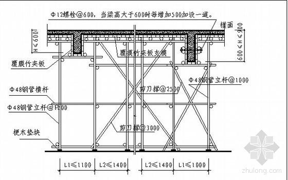 湘潭某办公楼施工组织设计(框架结构)