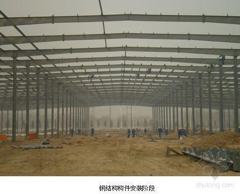 北京某厂房钢结构施工方案