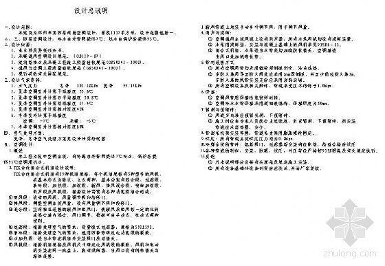 郑州市某商场空调设计图