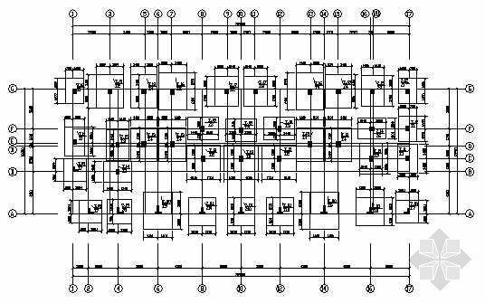 某顶层复式住宅结构图纸