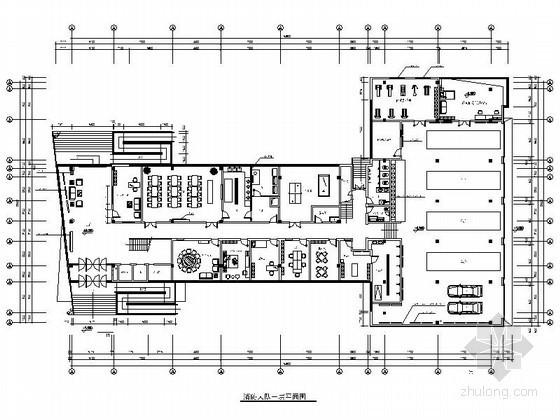 某消防大队办公室内设计装修图