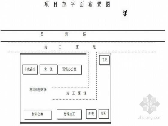 城市道路改造工程施工组织设计(白改黑)