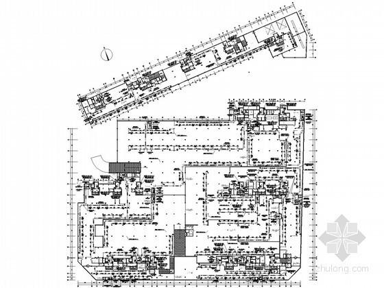[浙江]地下室消防及人防通风设计施工图(详图丰富)