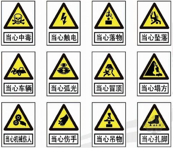 建筑工程施工现场安全文明设施标识、标识标准化手册