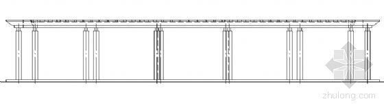 弧形柱廊详图