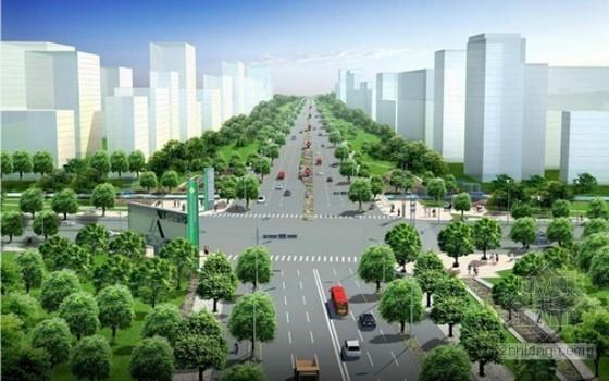 [湖南]道路绿化提质改造工程量清单计价实例(附施工图纸)