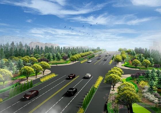 [山东]2015年人行道路绿化工程预算书