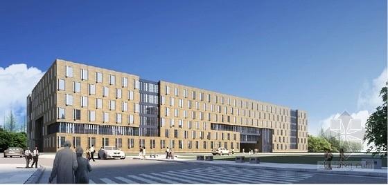 [南京]仙林大学某六层办公酒店商业综合体方案文本