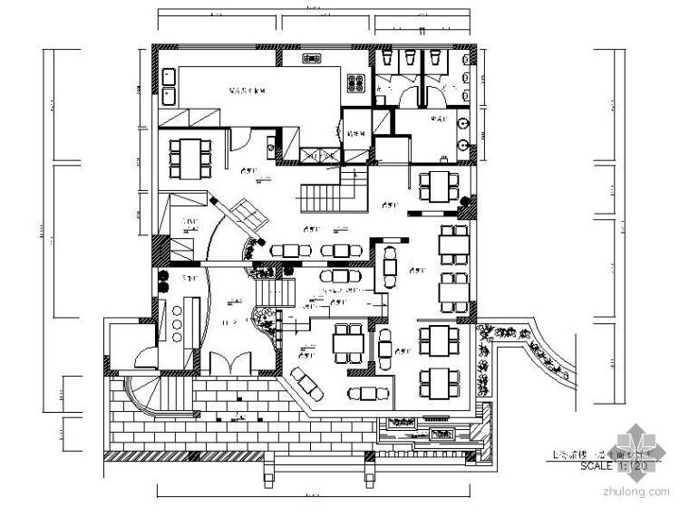 中式风格茶楼装修图